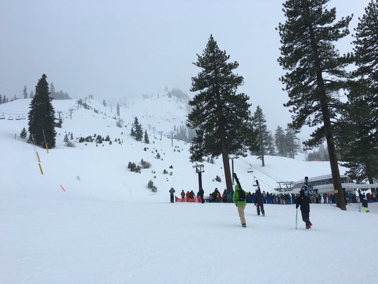 Squaw Valley - Alpine Meadows - Wind for now We will see - ©Bill's Iphone 6s