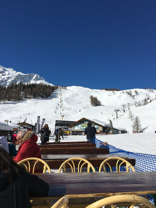 Courmayeur - Sun and Snow!   It doesn't get much better than this. - ©CJ iPhone 6S