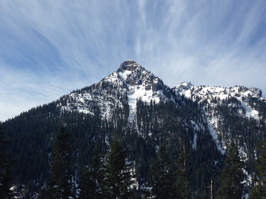 The Summit at Snoqualmie - Spring skiing at its finest!!   - ©David's iPhone