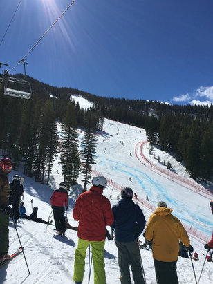 Sun Valley - US Alpine Championships!!  Great snow, great weather & great skiers  - ©jab