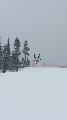 Winter Park Resort - Flipping for powder! - ©Nicco from EV