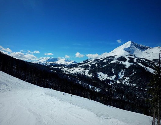 Big Sky Resort - Great base and wonderful snow....... - ©Owner's iPhone