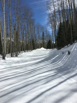 Telluride - Fantastic day of skiing.... Looks like a promising week on the snow  - ©iPhone