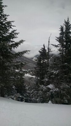 Stowe Mountain Resort - View of Smuggler's Notch from Stowe Vermont. - ©brewmont
