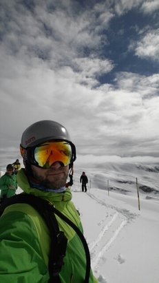 Flaine - Up to 10cm of new snow at the top. Heavy wet snow below mid-mountain. - ©Paul Jesinger
