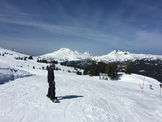 Mt. Bachelor - Firsthand Ski Report - ©Bendeck's iPhone
