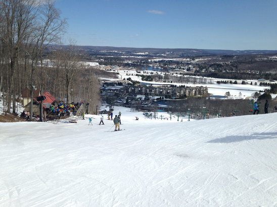 Boyne Mountain Resort - Great day at Boyne,sunny and 27 degrees!See you next year. - ©John's Iphone