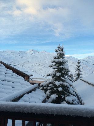 Val Thorens - It's a powder day = Epic conditions ..... - ©Mark's iPhone