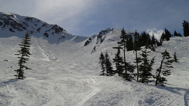Whistler/Blackcomb - Got 12 cms yesterday but all skied out now.  Still great snow it the bowls after it softens up. Stick to groomers in the morning.  Excellent spring skiing! - ©hot karl