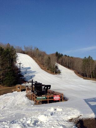 Ski Brule - Going to be a beautiful day at Ski Brule. - ©Ski Brule