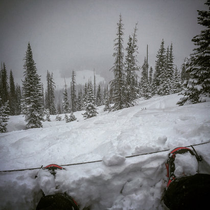 Wolf Creek Ski Area - MAP!! MidAprilPow! - ©Matt Clarke's iPhone