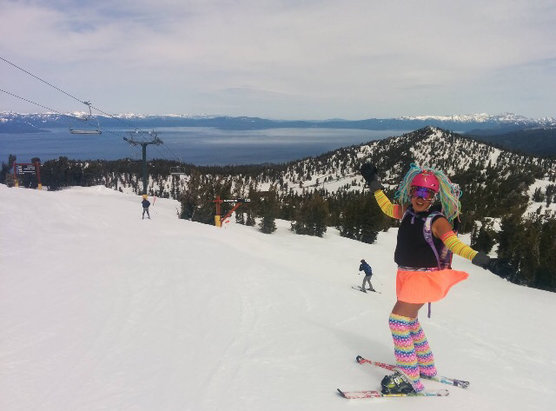 Heavenly Mountain Resort - Nice snow 0900-1230, then a bit mash potato.  - ©Bella