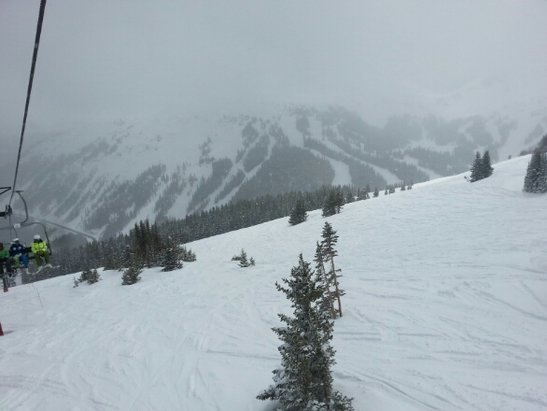 Loveland - AMAYZING conditions today loved every min.  awesome to be shedding in May - ©crcarroll3707