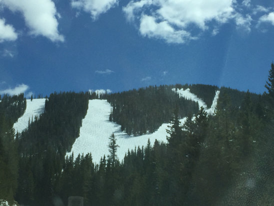 Winter Park Resort - May 2nd. Thank you MJ - ©jason's iPhone