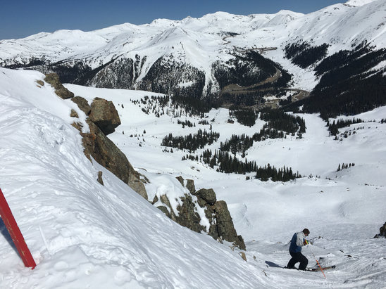 Arapahoe Basin Ski Area - Twas amazing. Hiked the east wall. Sun was the dizzle  - ©Superman