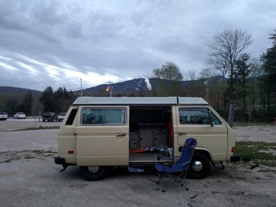 Killington Resort - Living in a van, down by the bull wheel...  - ©skifast.pb