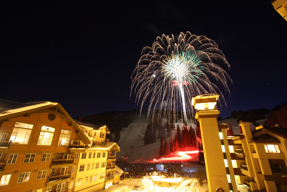 Fireworks over Durango, CO.