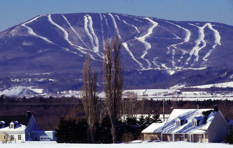 Mont-Sainte-Anne, Beaupre, Quebec, photo courtesy of mont-sainte-anne