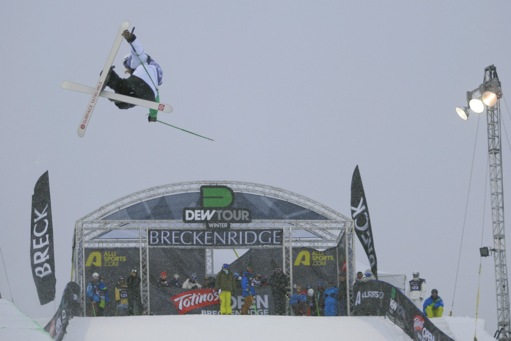 Banks Gilbert a t Snowbasin UT Dew Tour