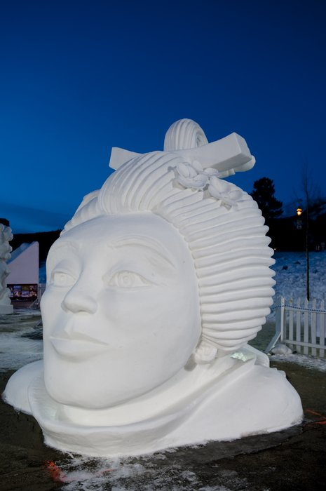 Snow Sculpture at Breckenridge: 2nd Team Canada, Ontario - Memories From My Youth