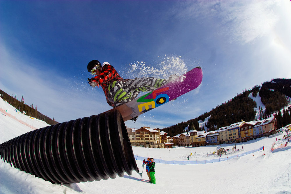 Gordon Lehane at Sun Peaks, BC. Photo by Dom Koric