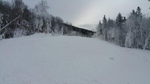 Wildcat Mountain - fantastic morning...great job snow making crew. - ©dlewis6665