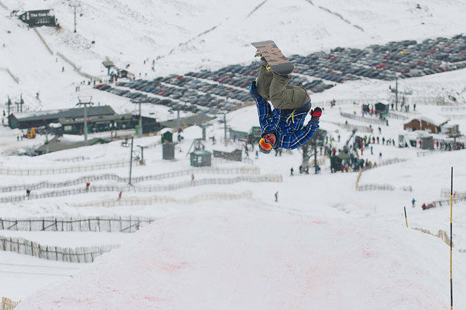 Freestyle boarder in Glenshee, Scotland - ©Glenshee