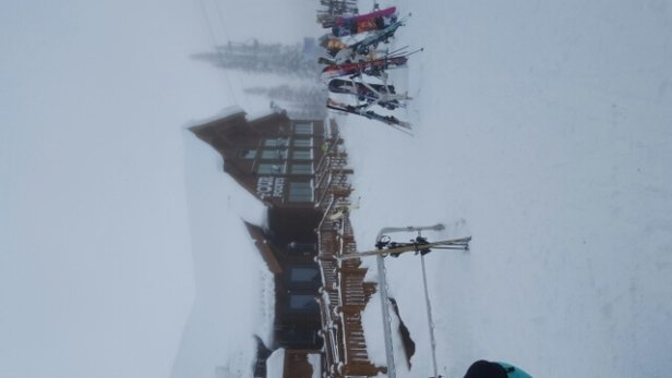 Steamboat - 4 Points is open, maybe Storm Peak tomorrow. Good pow up top. More snow coming this week. - ©CNOTE