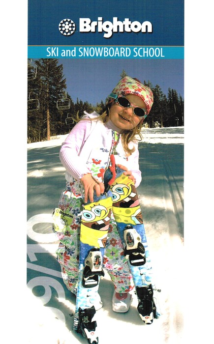 Advertisement for Brighton UT kids snowboard camp