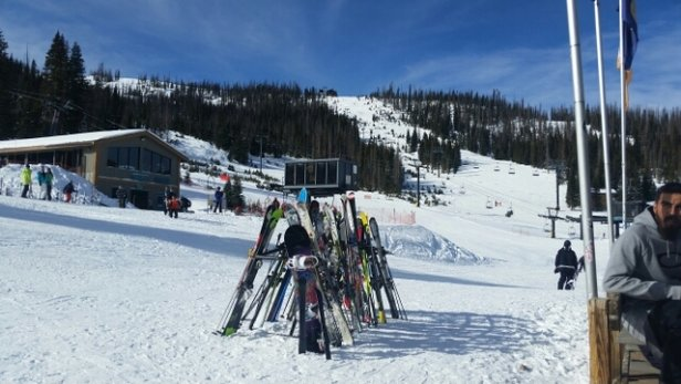 Wolf Creek Ski Area - skiing has been great last two days. plenty of snow, great weather and no lined or crowded slopes - ©Bill