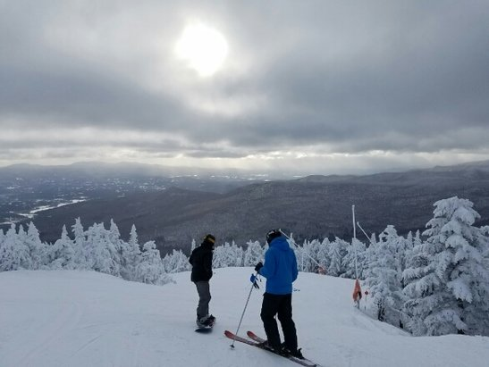 Stowe Mountain Resort - Fantastic first day for the season.  Today was better than any day I skied the 31 days last year. - ©Labrat