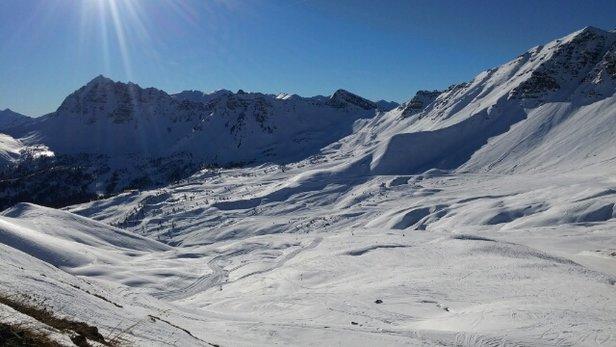 Vars - neige au top !!  - ©anonyme
