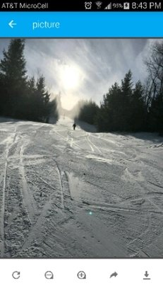 Elk Mountain Ski Resort - About half open. Totally empty. Stopped for snack at 10:30. Was only one in lodge. Conditions very good for being early.  Had great time - ©kemmererjr