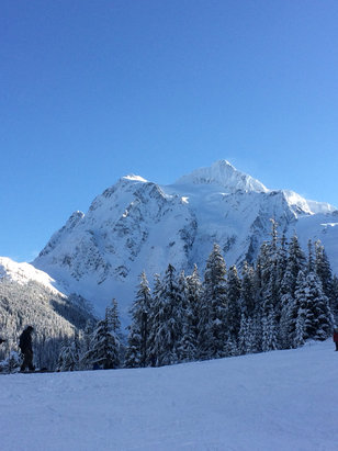Mt. Baker - An epic day at Baker, blue skies, powder and no lines. What a way to go into Christmas.  - ©Blueberry