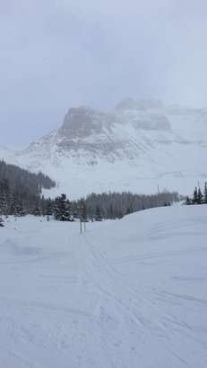 Sunshine Village - Good runs, good snow! - ©the TARDIS