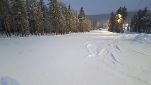 Levi - Nice packed powder at South Point, and no crowds - ©vlad9721@gmail.com