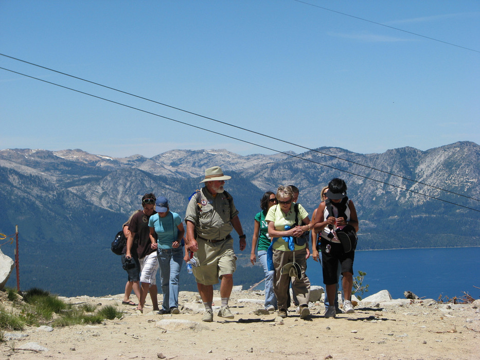 Visitors to Heavenly, CA on the Eco Tour