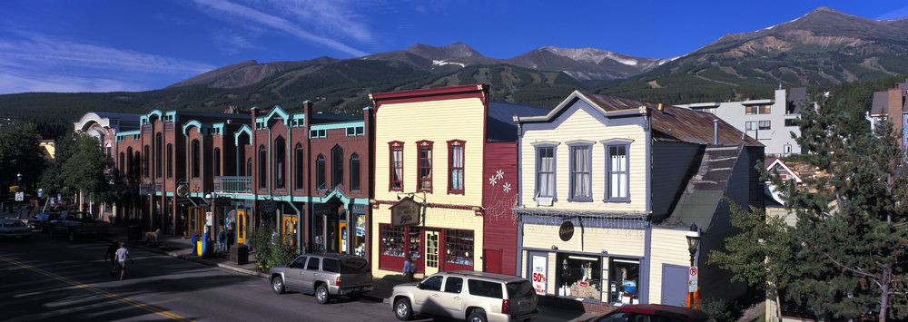 Breckenridge CO Main Street Summer - Jeff Scroggins
