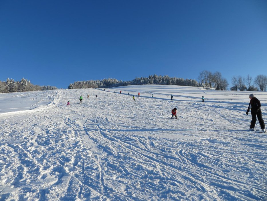 Die Pisten im Skigebiet Skilift Bildhaus - ©Skilift Bildhaus