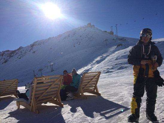 Davos Klosters - Perfekt präparierte Pisten, super zum carven   - ©Olivers iPhone
