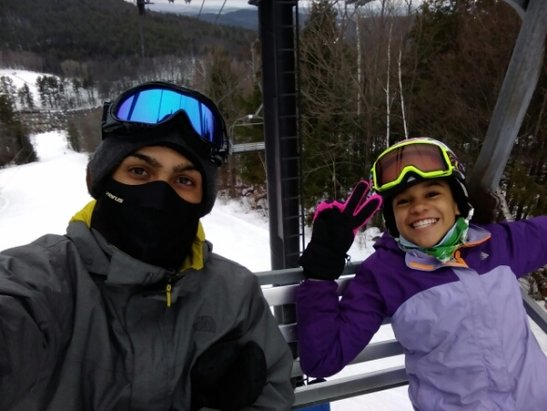 Mount Sunapee - awesome day out perfect powder every where was super great Thanx Sunapee - ©anonymous