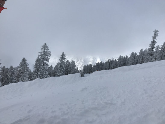Bear Valley - Lots of good snow! It's was a bit warm in morning but still snow! - ©YB's iphone 6