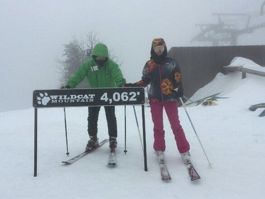 Wildcat Mountain - ski the cat! - ©Boston bob