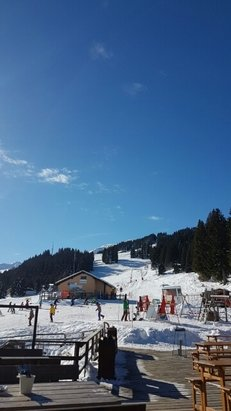 Chur - Leider nicht so viel Schnee, dafür hat es wenig Leute auf der Piste  - ©Anonym