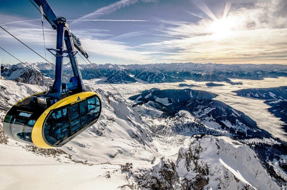 Gondelbahn auf den Dachstein Gletscher - ©Dachstein