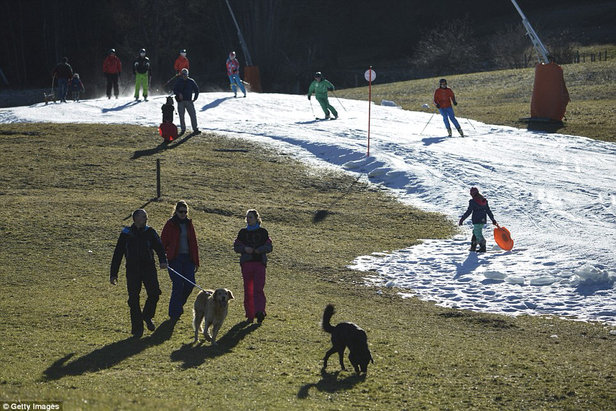Blue Mountain Resort - Best conditions in years! My buddy was able to even bring his dog along.  - ©magic hateball