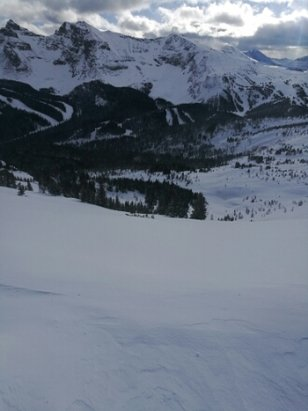 Sunshine Village - fresh tracks!  - ©hholmes