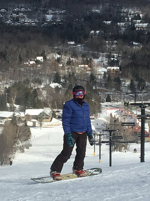 Mount Snow - Lots of snow, mountain is in great condition! - ©Kat xoxo