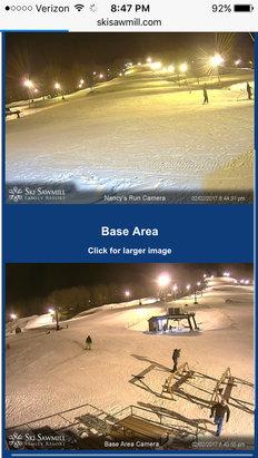 Ski Sawmill - No crowds  - ©Princess's iPhone