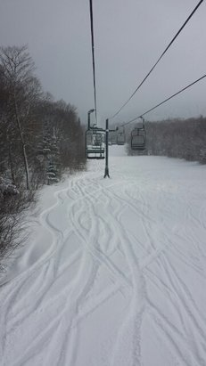 Bolton Valley - 8 inches of fresh powder since midnight. Coming down steady all day non stop. sweet. - ©pmore.isee